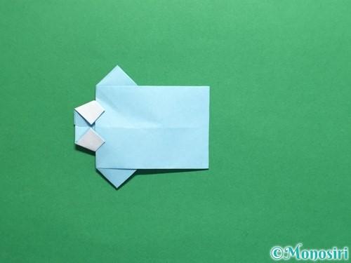 折り紙でポロシャツの折り方手順28