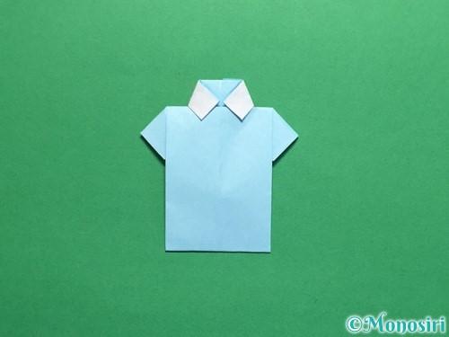 折り紙でポロシャツの折り方手順29