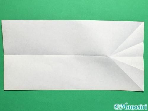 折り紙でネクタイ付のYシャツの折り方手順11