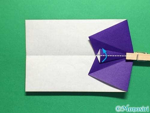 折り紙でネクタイ付のYシャツの折り方手順20