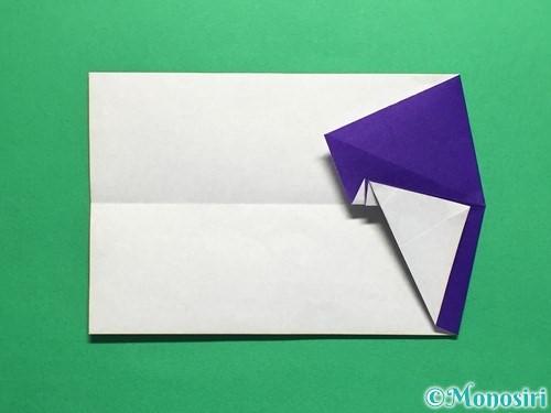 折り紙でネクタイ付のYシャツの折り方手順23