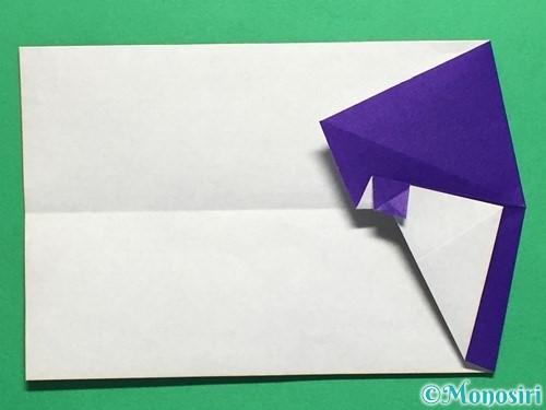 折り紙でネクタイ付のYシャツの折り方手順25