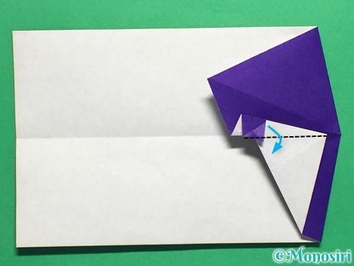 折り紙でネクタイ付のYシャツの折り方手順26