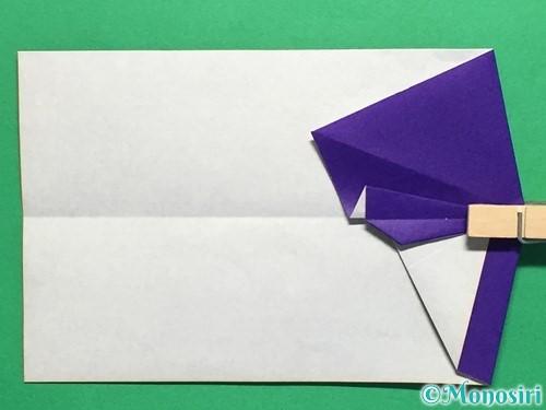 折り紙でネクタイ付のYシャツの折り方手順27