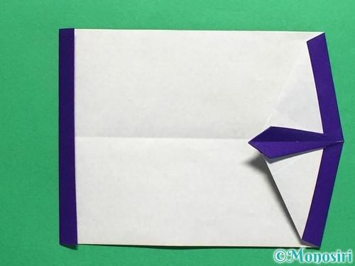 折り紙でネクタイ付のYシャツの折り方手順32