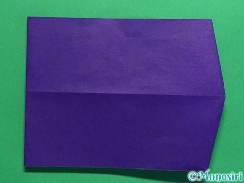 折り紙でネクタイ付のYシャツの折り方手順33