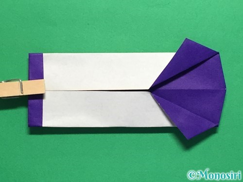 折り紙でネクタイ付のYシャツの折り方手順37