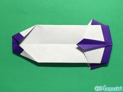 折り紙でネクタイ付のYシャツの折り方手順40