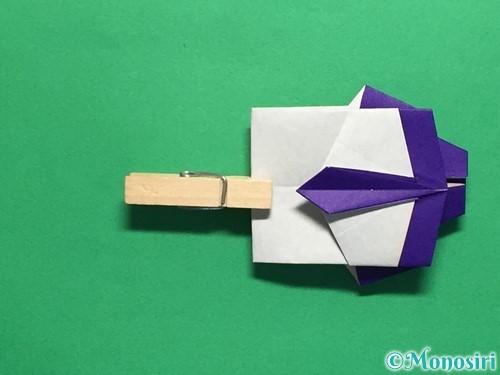 折り紙でネクタイ付のYシャツの折り方手順42