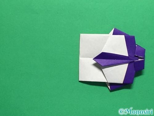 折り紙でネクタイ付のYシャツの折り方手順44