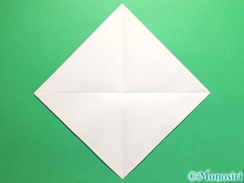 折り紙でネクタイの折り方手順2