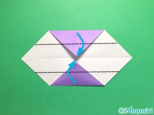折り紙でネクタイの折り方手順5