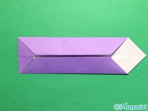 折り紙でネクタイの折り方手順8