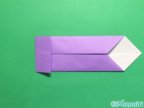 折り紙でネクタイの折り方手順10