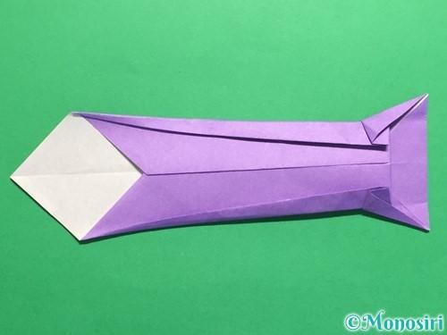 折り紙でネクタイの折り方手順18