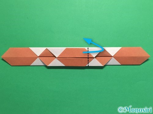 折り紙で腕時計の折り方手順20