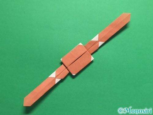 折り紙で腕時計の折り方手順30