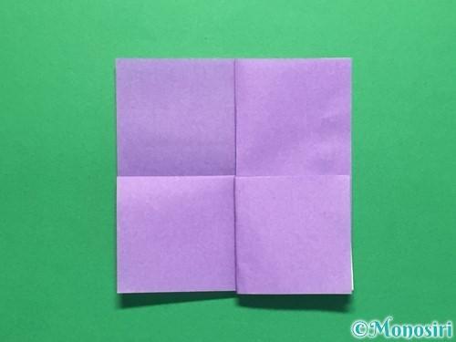 折り紙で簡単なあじさいの折り方手順13