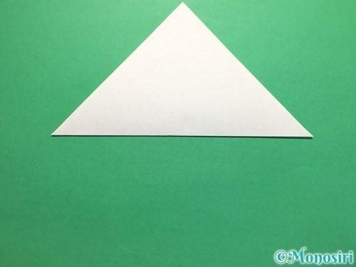 折り紙で簡単なあじさいの折り方手順16