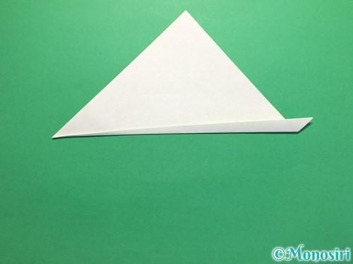 折り紙で簡単なあじさいの折り方手順18