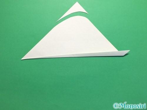 折り紙で簡単なあじさいの折り方手順20