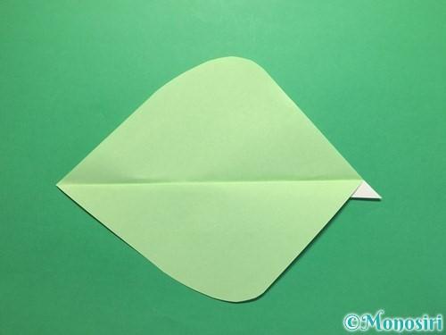 折り紙で簡単なあじさいの折り方手順21