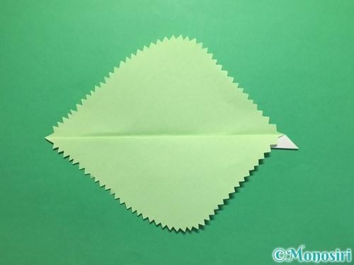 折り紙で簡単なあじさいの折り方手順23