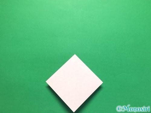 折り紙で立体的な紫陽花の作り方手順11
