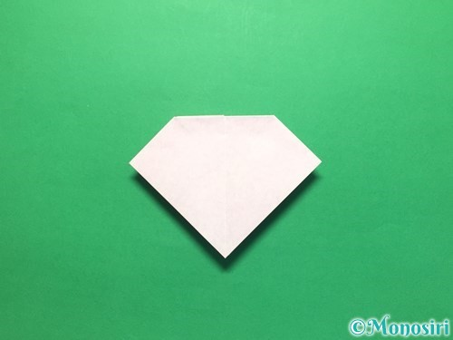 折り紙で立体的な紫陽花の作り方手順22
