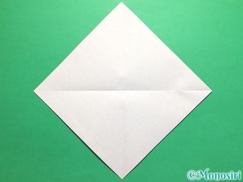 折り紙でカタツムリの折り方手順2