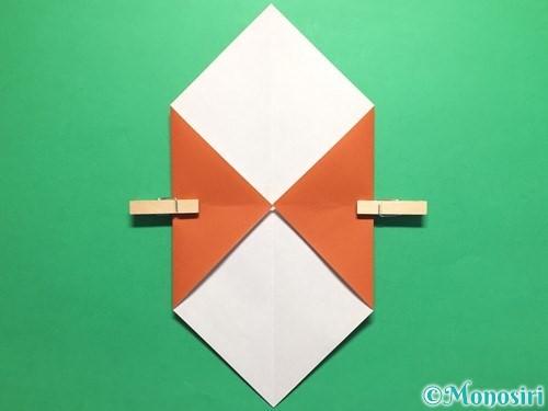 折り紙でカタツムリの折り方手順4