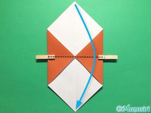 折り紙でカタツムリの折り方手順5
