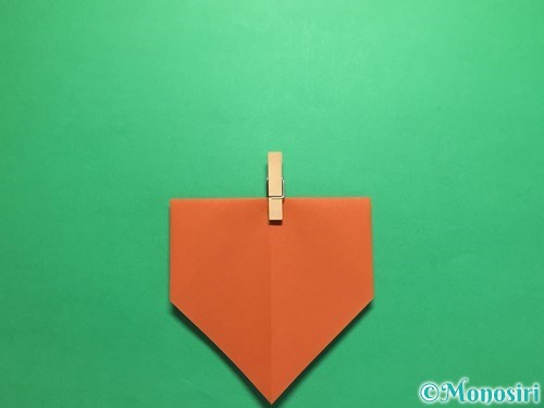 折り紙でカタツムリの折り方手順6