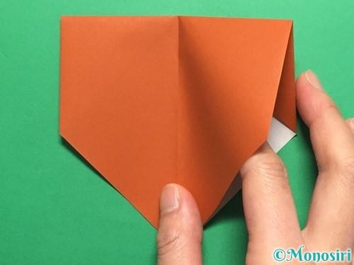折り紙でカタツムリの折り方手順7