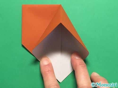 折り紙でカタツムリの折り方手順8