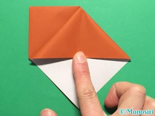 折り紙でカタツムリの折り方手順9