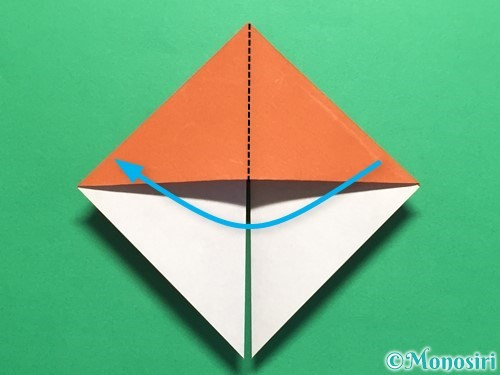 折り紙でカタツムリの折り方手順12