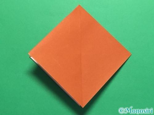 折り紙でカタツムリの折り方手順13