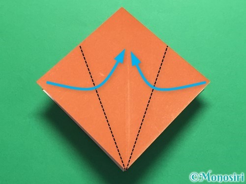 折り紙でカタツムリの折り方手順15