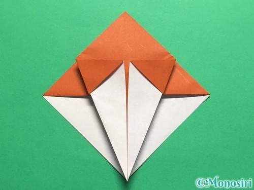 折り紙でカタツムリの折り方手順16