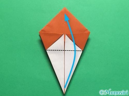 折り紙でカタツムリの折り方手順18