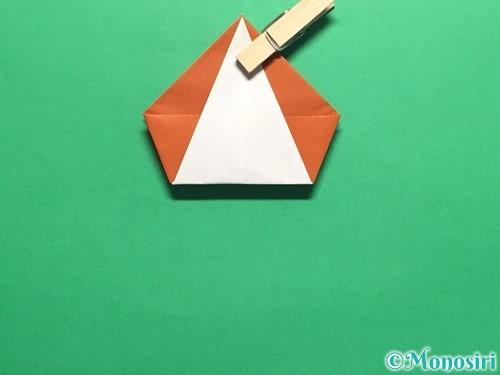 折り紙でカタツムリの折り方手順20