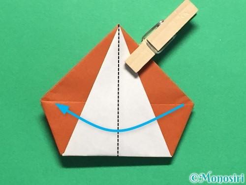 折り紙でカタツムリの折り方手順21