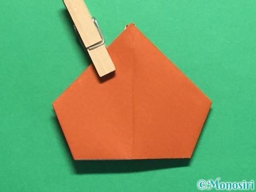 折り紙でカタツムリの折り方手順22