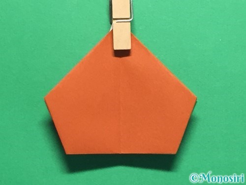 折り紙でカタツムリの折り方手順23