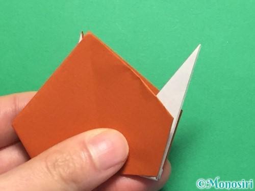 折り紙でカタツムリの折り方手順25