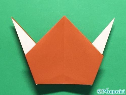折り紙でカタツムリの折り方手順26