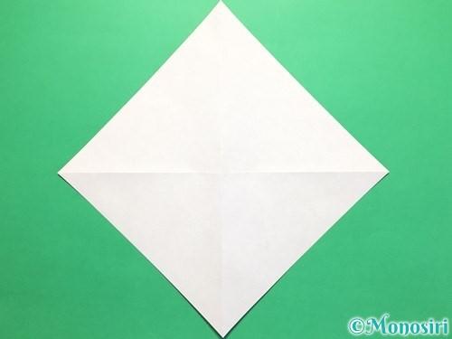 折り紙で立体的なかたつむりの折り方手順3