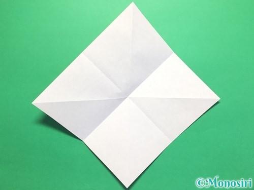 折り紙で立体的なかたつむりの折り方手順5