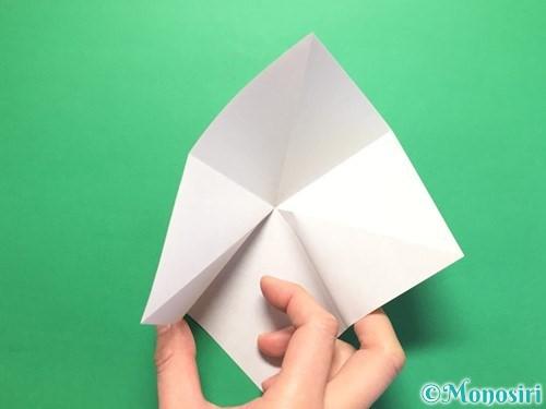 折り紙で立体的なかたつむりの折り方手順6